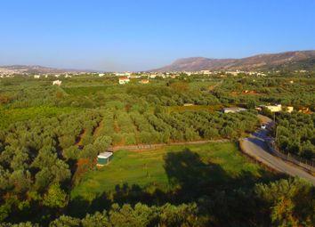 Thumbnail Land for sale in Pervolia, Chania, Crete, Greece