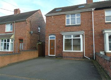 Thumbnail 2 bed semi-detached house to rent in Spon Lane, Grendon, Atherstone, Warwickshire