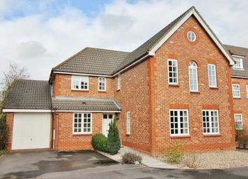 Thumbnail 4 bedroom detached house for sale in Upmill Close, West End, Southampton