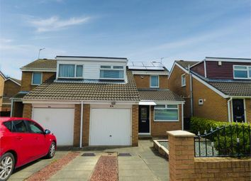 Thumbnail 3 bedroom semi-detached house for sale in Bamburgh Drive, Pegswood, Morpeth, Northumberland