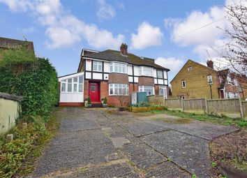 Thumbnail 4 bed semi-detached house for sale in Ashford Road, Canterbury, Kent