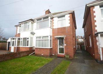 Thumbnail 3 bed semi-detached house for sale in Woodville Road, Exeter, Devon