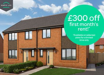 Thumbnail 4 bed semi-detached house to rent in Plot 12, Medway Close, Sheffield