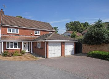 Thumbnail 4 bed detached house for sale in Southerland Close, Weybridge, Surrey