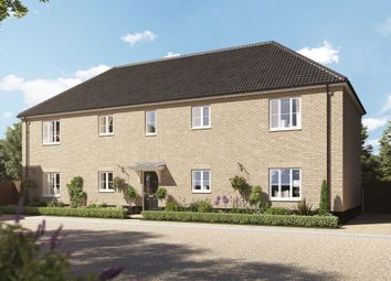 Thumbnail 1 bed flat for sale in Norwich Road, Kilverstone, Thetford