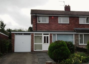 Thumbnail 3 bed semi-detached house to rent in Abbey Meadows, Morpeth