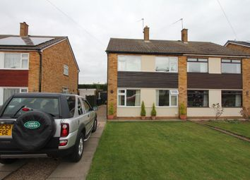 Thumbnail 3 bed semi-detached house to rent in Darley Road, Burbage, Hinckley