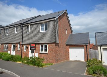 Thumbnail 3 bed semi-detached house for sale in Brooks Warrent, Cranbrook
