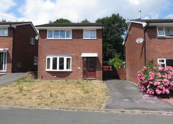 Thumbnail 3 bed detached house for sale in Brookhouse Close, Macclesfield