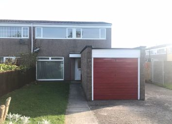 Thumbnail 3 bed semi-detached house to rent in Cas Troggy, Caldicot, Monmouthshire