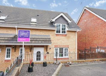 Thumbnail 3 bed semi-detached house for sale in Hopkin Street, Swansea