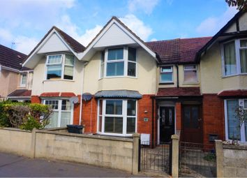 Thumbnail 2 bed terraced house for sale in Groundwell Road, Swindon