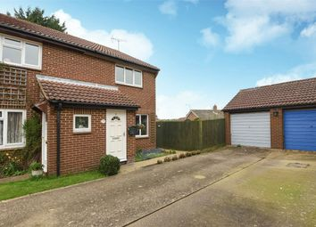 Thumbnail 2 bed semi-detached house for sale in Agate Close, Wokingham, Berkshire