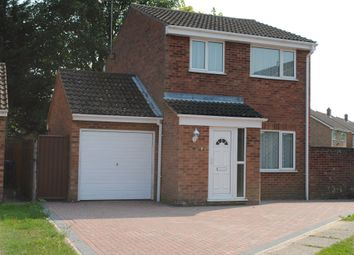 Thumbnail 3 bed detached house to rent in Magnolia Close, Red Lodge, Bury St Edmunds, Suffolk