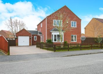 Thumbnail 4 bed detached house for sale in Charlemont Drive, Manea, March