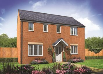 "Thumbnail 3 bedroom detached house for sale in ""The Clayton"" at Pomphlett Farm Industrial, Broxton Drive, Plymouth"