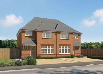 "Thumbnail 3 bed semi-detached house for sale in ""Ludlow"" at Lake Lane, Barnham, Bognor Regis"