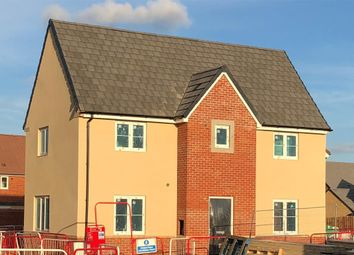Thumbnail 3 bedroom detached house for sale in Coronel Close, Stratton Court, Swindon