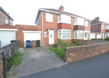 Thumbnail 3 bedroom semi-detached house for sale in Derwentdale Gardens, High Heaton, Newcastle Upon Tyne