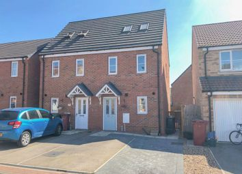 Thumbnail 3 bed semi-detached house for sale in Plover Way, Scunthorpe