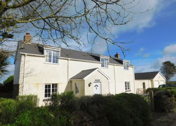 Thumbnail 4 bed detached house for sale in Rose Hill, Goonhavern, Truro