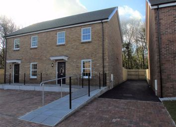 Thumbnail 2 bedroom semi-detached house for sale in Mansion Gardens, Penllergaer, Swansea, Swansea