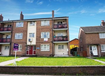 Thumbnail 2 bed flat for sale in Ffordd Powell, Wrexham