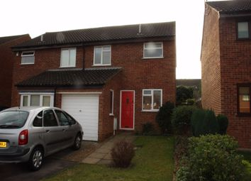 Thumbnail 3 bedroom semi-detached house to rent in Naseby Court, Bradville, Milton Keynes, Buckinghamshire