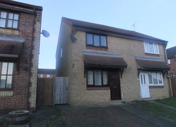 Thumbnail 3 bed semi-detached house to rent in Heron Close, Stowmarket