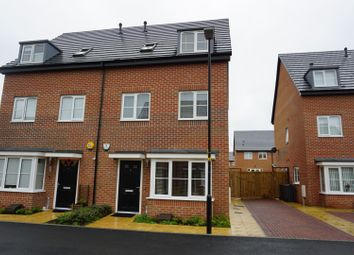 Thumbnail 4 bed semi-detached house for sale in Iris Close, Leicester