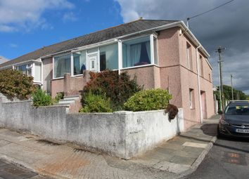 Thumbnail 2 bed semi-detached house for sale in Lansdowne Road, Crownhill, Plymouth