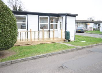 Thumbnail 2 bed mobile/park home for sale in Castle Hill Park, London Road, Clacton-On-Sea