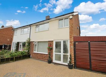 Thumbnail 3 bed semi-detached house for sale in Elm Close, Bedford