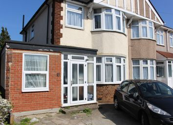 Thumbnail 4 bedroom semi-detached house to rent in Heathcote Avenue, London