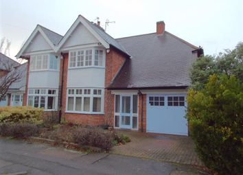 Thumbnail 3 bed semi-detached house for sale in Ryde Avenue, Leicester