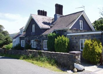 Thumbnail 3 bed detached house for sale in Talybont, Bangor