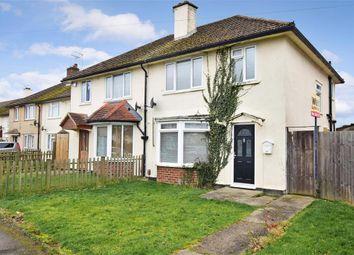 Thumbnail 3 bed semi-detached house for sale in Simons Avenue, Ashford, Kent