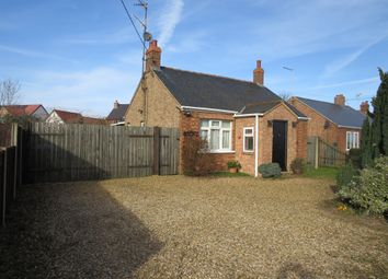 Thumbnail 2 bed detached bungalow for sale in Needham Bank, Friday Bridge, Wisbech
