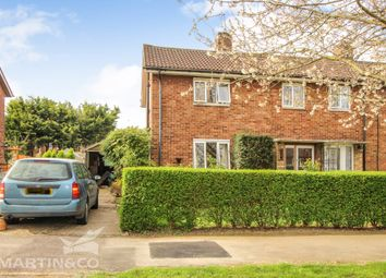 Thumbnail 2 bedroom end terrace house for sale in Knella Road, Welwyn Garden City