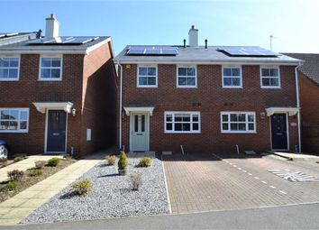 3 bed semi-detached house for sale in Oakwood Terrace, Eeklo Place, Newbury, Berkshire RG14