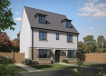 "Thumbnail 5 bed detached house for sale in ""The Regent"" at Pomphlett Farm Industrial, Broxton Drive, Plymouth"