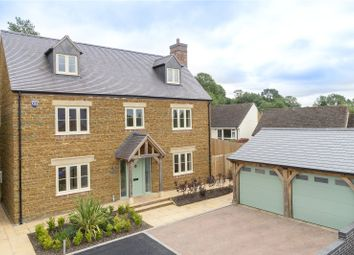 Thumbnail 5 bed detached house for sale in Willow Gardens, Northend, Southam, Warwickshire