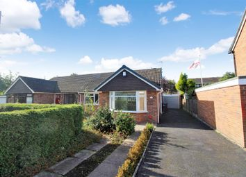 Thumbnail 2 bed semi-detached bungalow for sale in Limewood Close, Blythe Bridge, Stoke-On-Trent