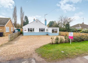 Thumbnail 3 bed detached bungalow for sale in St Johns Road, Tilney St. Lawrence, King's Lynn