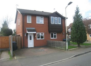 Thumbnail 2 bed semi-detached house for sale in Devitt Way, Broughton Astley, Leicester