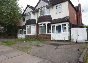 Thumbnail 3 bed semi-detached house for sale in Harborne Park Road, Birmingham