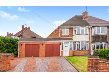 3 bed semi-detached house for sale in Parkhill Road, Sutton Coldfield B76