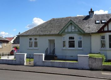 Thumbnail 3 bed semi-detached bungalow for sale in Colquhoun Street, Dumbarton