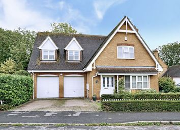 Thumbnail 4 bed detached house for sale in Louthe Way, Sawtry, Huntingdon.