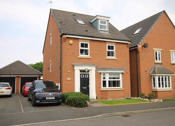 Thumbnail 4 bedroom detached house for sale in Chicago Place, Great Sankey, Warrington